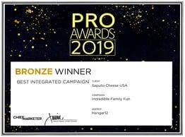 2019 Pro Awards FCH Campaign