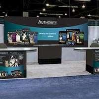 Authority trade show exhibit design