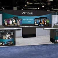 Authority trade show exhibit design
