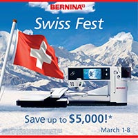 Bernina Swiss Fest promotion banner