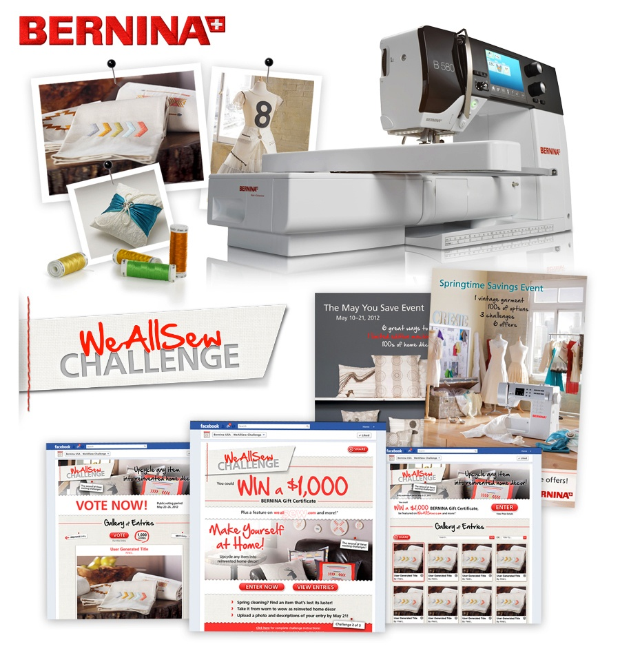 BERNINA brand marketing