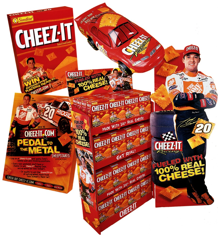 Cheez-It retail display design