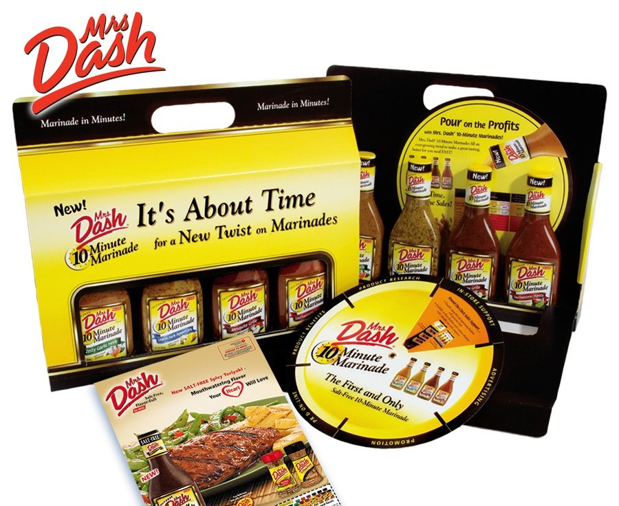 Mrs. Dash product launch strategy