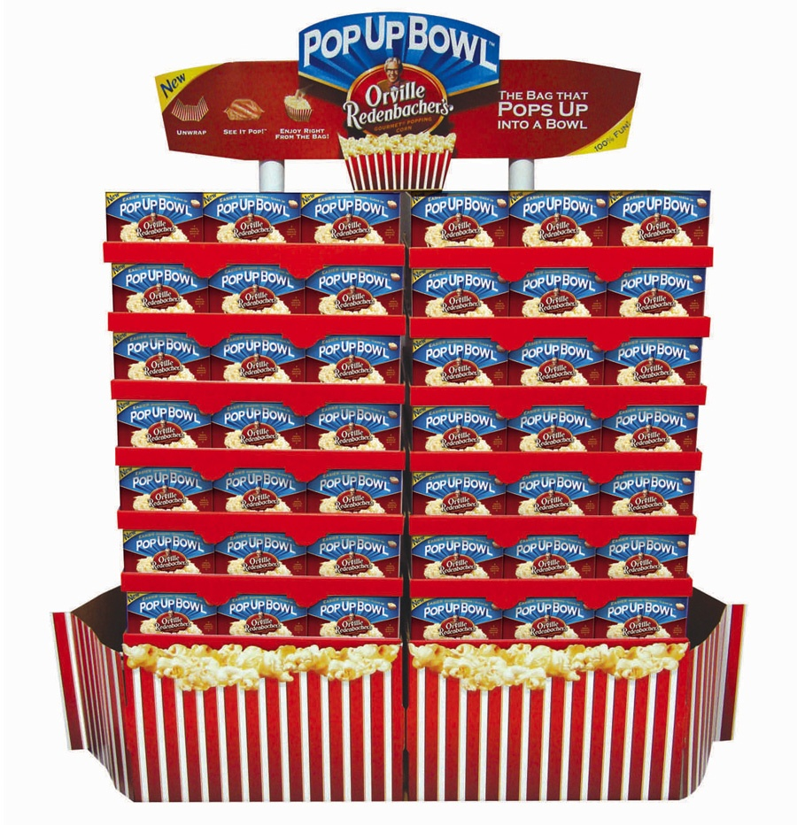 Orville Redenbacher's retail display design