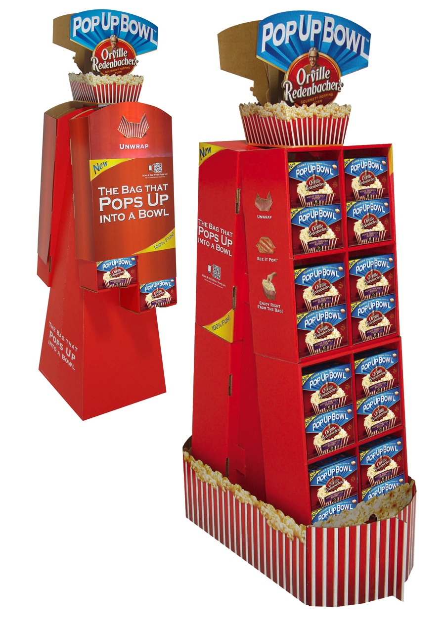 Orville Redenbacher's shipper display