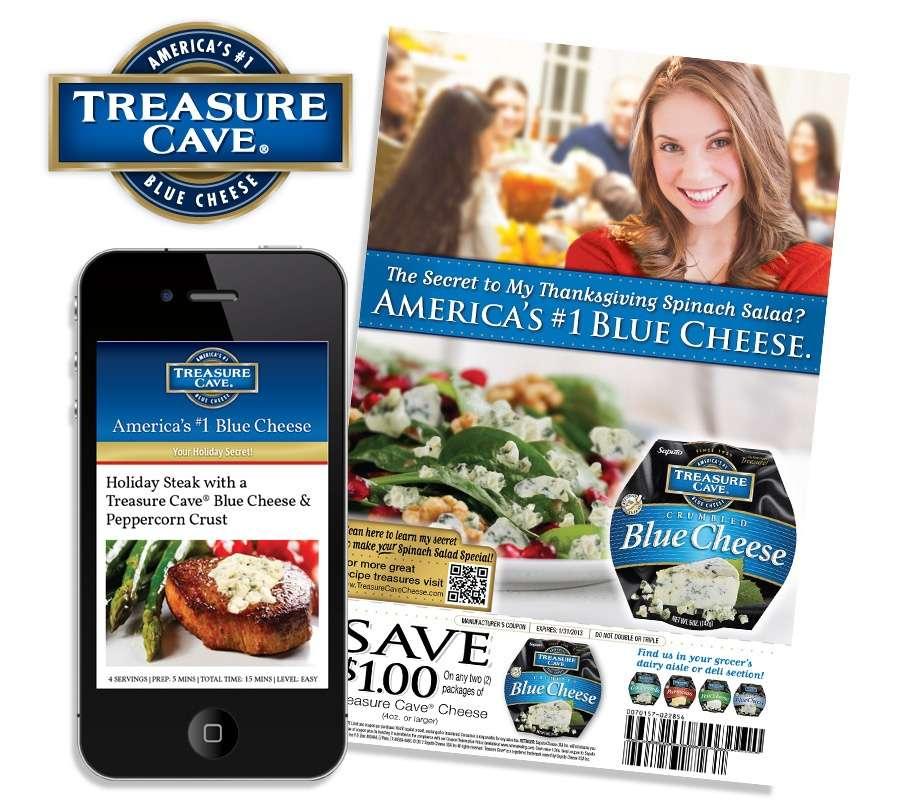 Treasure Cave food marketing