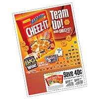 Cheez-It 'Fast Break' FSI
