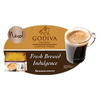 Godiva Coffee floor graphic design