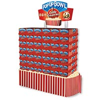 Orville Redenbacher's PopUp Bowl store display