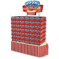 Orville Redenbacher's PopUp Bowl store display