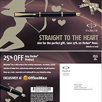Parker Pen Direct Mail