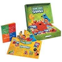 Sesame Street Snacks Sales Kit